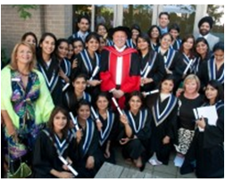 89 INSCOL Nurse Students Graduated at Niagara College
