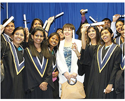 Convocation held for INSCOL Nurse students at Niagara College