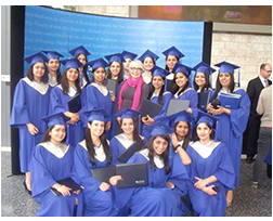 Convocation held for INSCOL Nurse students at Grant MacEwan university, Alberta