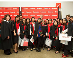 INSCOL Nurse Students graduate from Seneca College