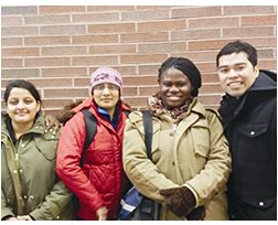 International Nurses from Philippines, Ghana & India join Niagara College, Canada