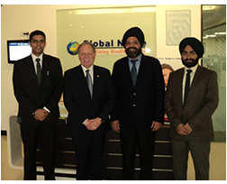 Niagara College President visits INSCOL