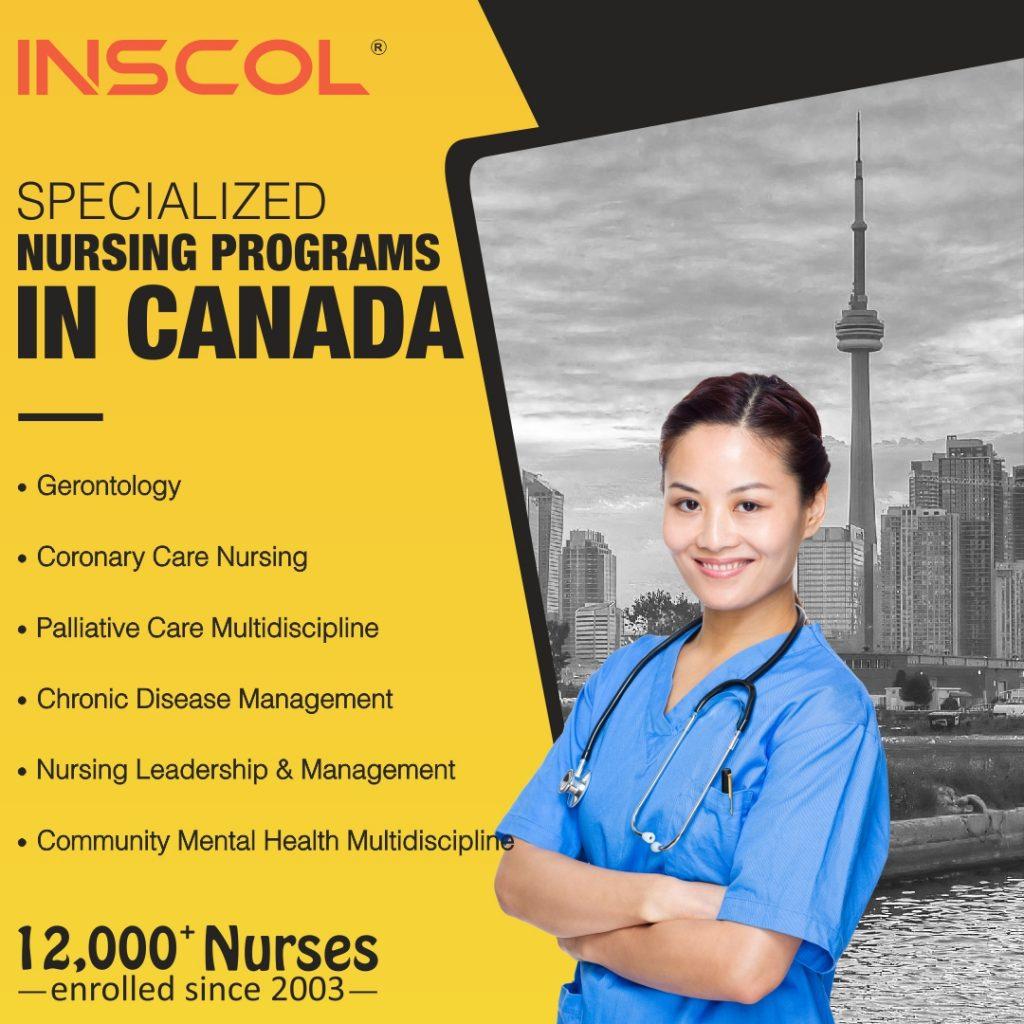 postgraduate nursing in canada
