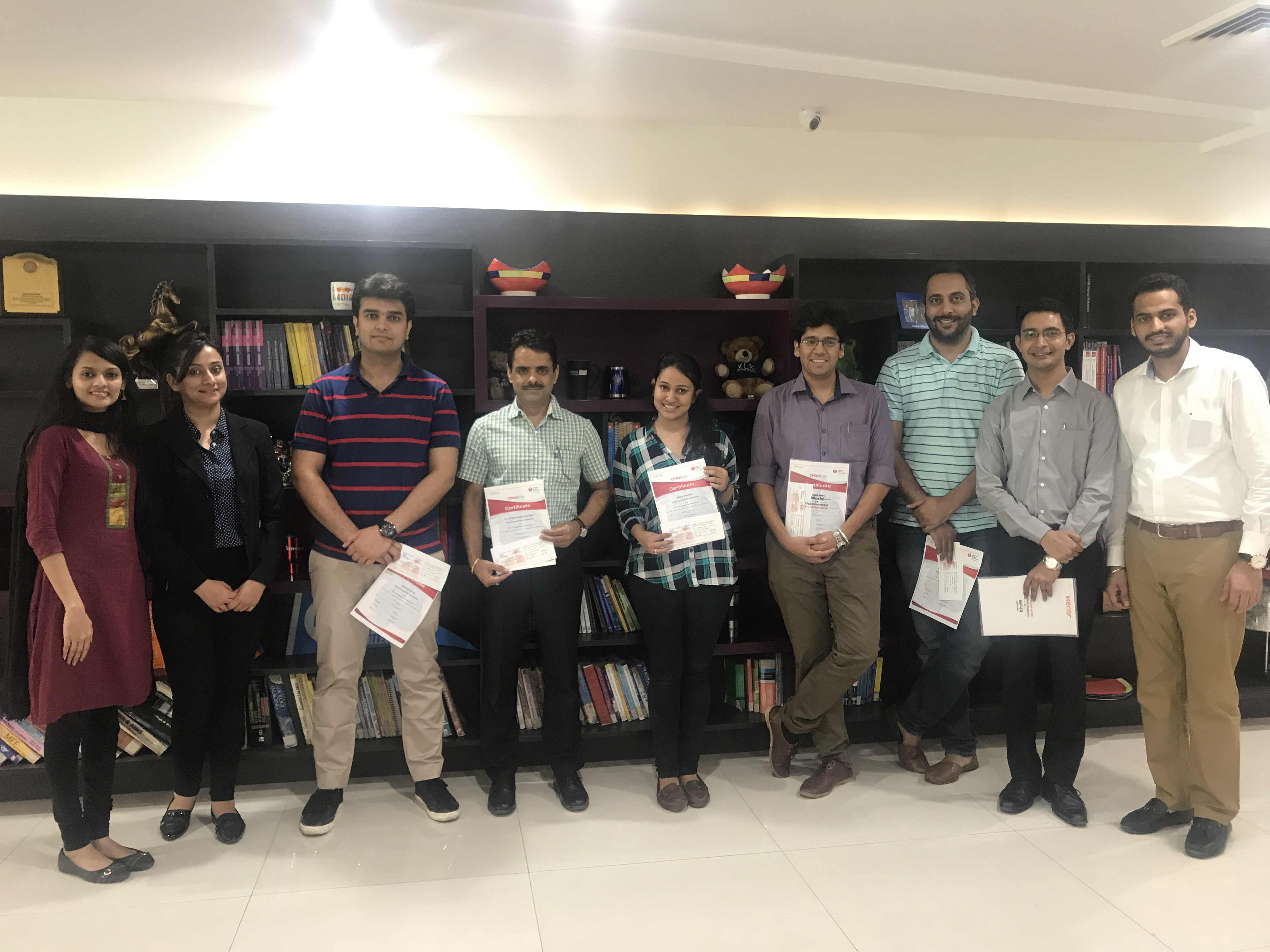 ACLS & BLS WORKSHOP CONDUCTED IN CHANDIGARH HEAD OFFICE